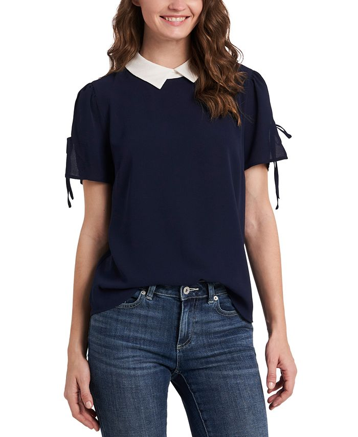 CeCe - Collared Blouse