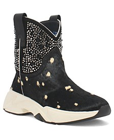 Women's the Force Leather Bootie