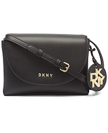 Dayna Leather Flap Crossbody