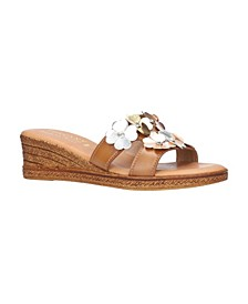 Tuscany by Women's Lilla Slide Sandals