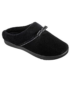 Isotoner Women's Microterry Milly Hoodback Slippers