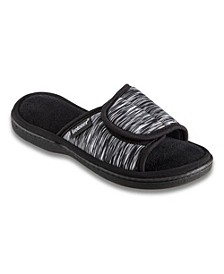 Isotoner Women's Scout Adjustable Slide Slippers