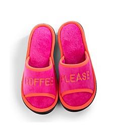 Isotoner Women's Embroidered Bree Slide Slippers