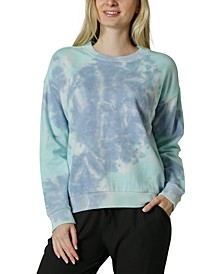 Juniors' Tie-Dyed Sweatshirt