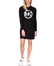 Circle Logo Hoodie Dress, Regular & Petite