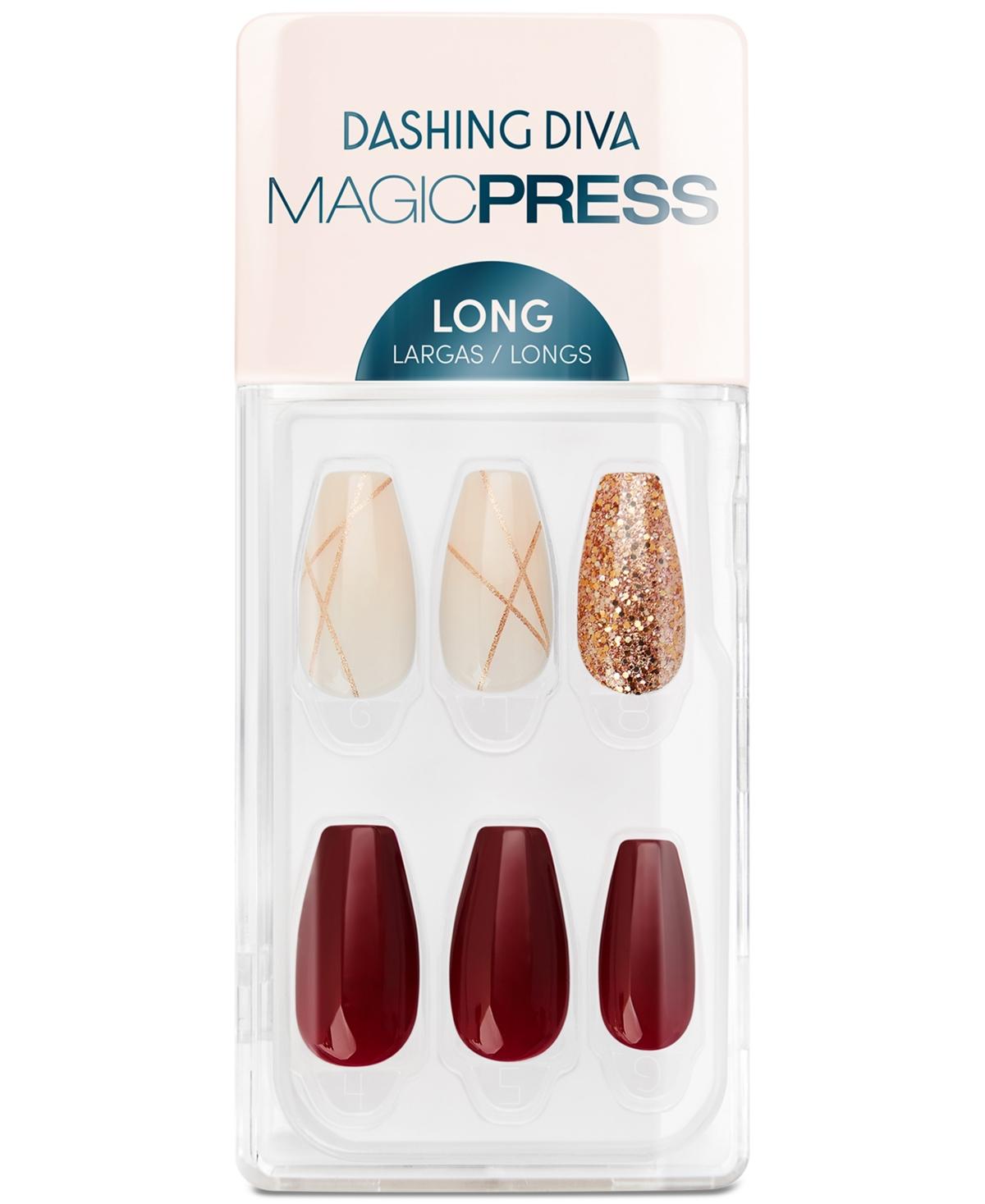 Dashing Diva Magicpress Press-On Gel Nails - Vamp Vixen