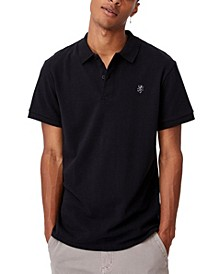 Men's Essential Short Sleeve Polo T-shirt