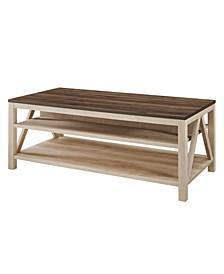 """48"""" A Frame Farmhouse Coffee Table"""