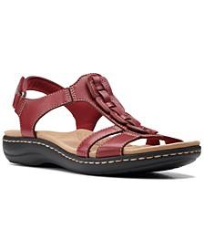 Laurieann Kay T-strap Slingback Sandals