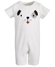 Baby Boys Puppy Face Sunsuit, Created for Macy's