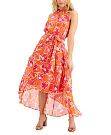 INC Floral-Print Midi Dress, Created for Macy's