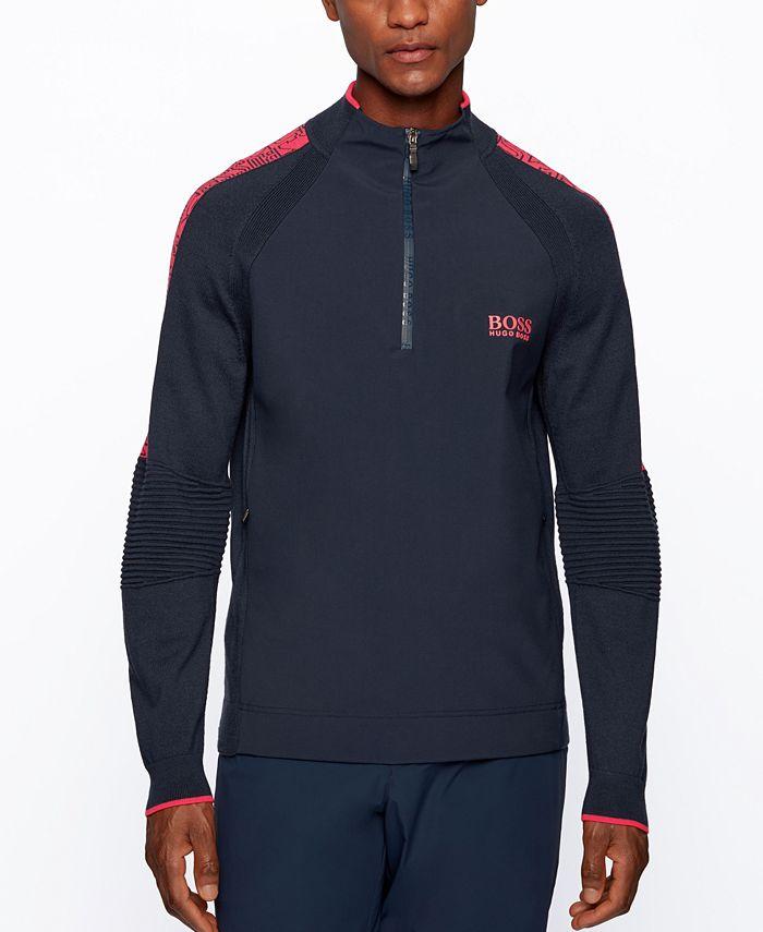 Hugo Boss - Men's Zalogo Regular-Fit Sweater