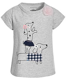 Toddler Girls Dogs T-Shirt, Created for Macy's