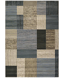 Couristan Area Rugs, Taylor Geometrics Tan-Teal