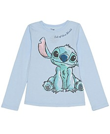 Toddler Girls Stitch Out Of This World Long Sleeve Tee