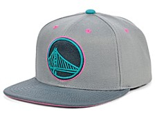 Golden State Warriors Grey Wolf Mags Snapback Cap