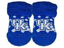 Kentucky Wildcats Polka Dot Gift Box Booties