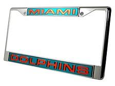Miami Dolphins Laser Frame