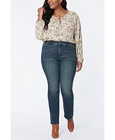 Women's Plus Size Marilyn Straight Jeans