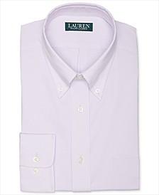 Lauren Men's Regular Fit Wrinkle Free Stretch Dress Shirt, Online Exclusive