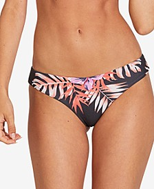 Juniors' U Da Palm Printed Bikini Bottoms