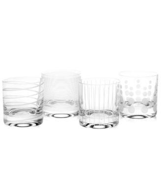 Mikasa double old fashioned glasses 49