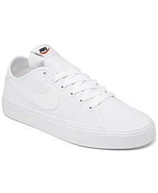 Women's Court Legacy Canvas Casual Sneakers from Finish Line