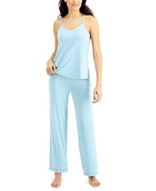 Solid Tank Top Pajama Set, Created for Macy's