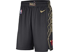 Chicago Bulls Men's City Edition Swingman Shorts