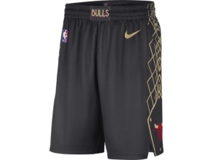 Nike CHICAGO BULLS MEN'S CITY EDITION SWINGMAN SHORTS