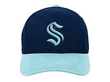 Youth Seattle Kraken Basic Adjustable Cap