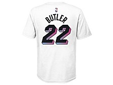 Youth Miami Heat City Edition Player T-Shirt Jimmy Butler