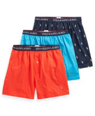 폴로 랄프로렌 Polo Ralph Lauren Mens 3-Pk. Knit Boxers