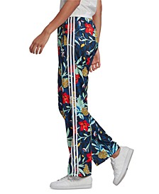 x HER Studio London Tropical-Print Track Pants