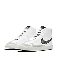 Men's Blazer Mid '77 Vintage-like Casual Sneakers from Finish Line