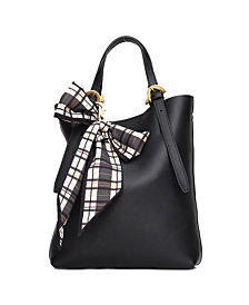 ZAC POSEN Leather Mini Posen Tote