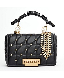 Earthette Leather Small Soft Chain Shoulder