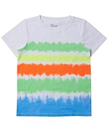 Little Boys Short Sleeve Tie-Dye Ombre T-shirt