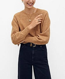 Women's Long Raglan Sleeve Sweater