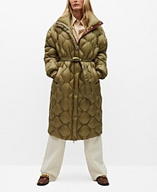 Women's Long Quilted Down Anorak