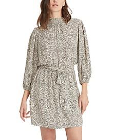 Radiate Dot-Print Dress