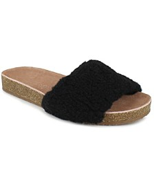 Women's Romy Shearling Footbed Sandals