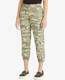 Rebel Camo-Print Pants