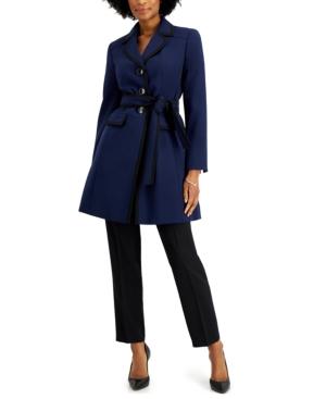 Belted Topper-Jacket Pantsuit