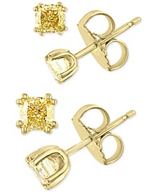 EFFY® Yellow Diamond Stud Earring Collection in 18k Gold
