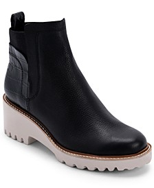 Huey Lug-Sole Chelsea Booties