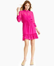 Semi-Sheer Blouson Dress, Created for Macy's