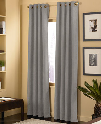 Chf Cameron Faux Suede Window Treatment Collection Macy S