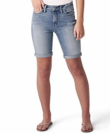 Avery Denim Bermuda Shorts
