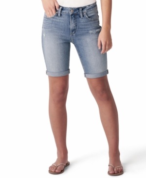 Silver Jeans Co. AVERY DENIM BERMUDA SHORTS